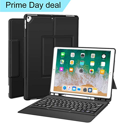 Sounwill ipad pro 12.9 Case with Keyboard Compatible for ipad pro 12.9