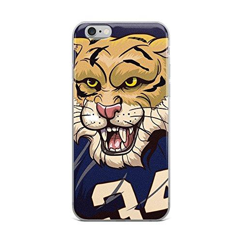 Tigers Personalized Football - BagParadise Tiger Football iPhone Case Auburn Alabama Mascot iPhone 6, 7, 8, X, 6S, 6 Plus, 7 Plus, 8 Plus Phone Case College Sports Gift(iPhone 7)