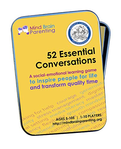 52 Essential Conversations: The Life Skills Card Game for Children and Adults - Builds Social Emotional, Critical Thinking, Growth Mindset & Vocabulary Skills - Created by Harvard Educators (Best Family And Social Game)