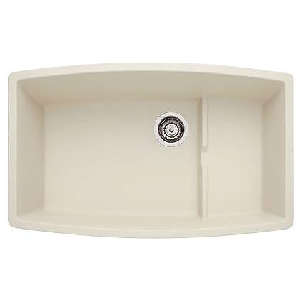 Blanco 440065 Performa Silgranit II Cascade Sink, Biscuit