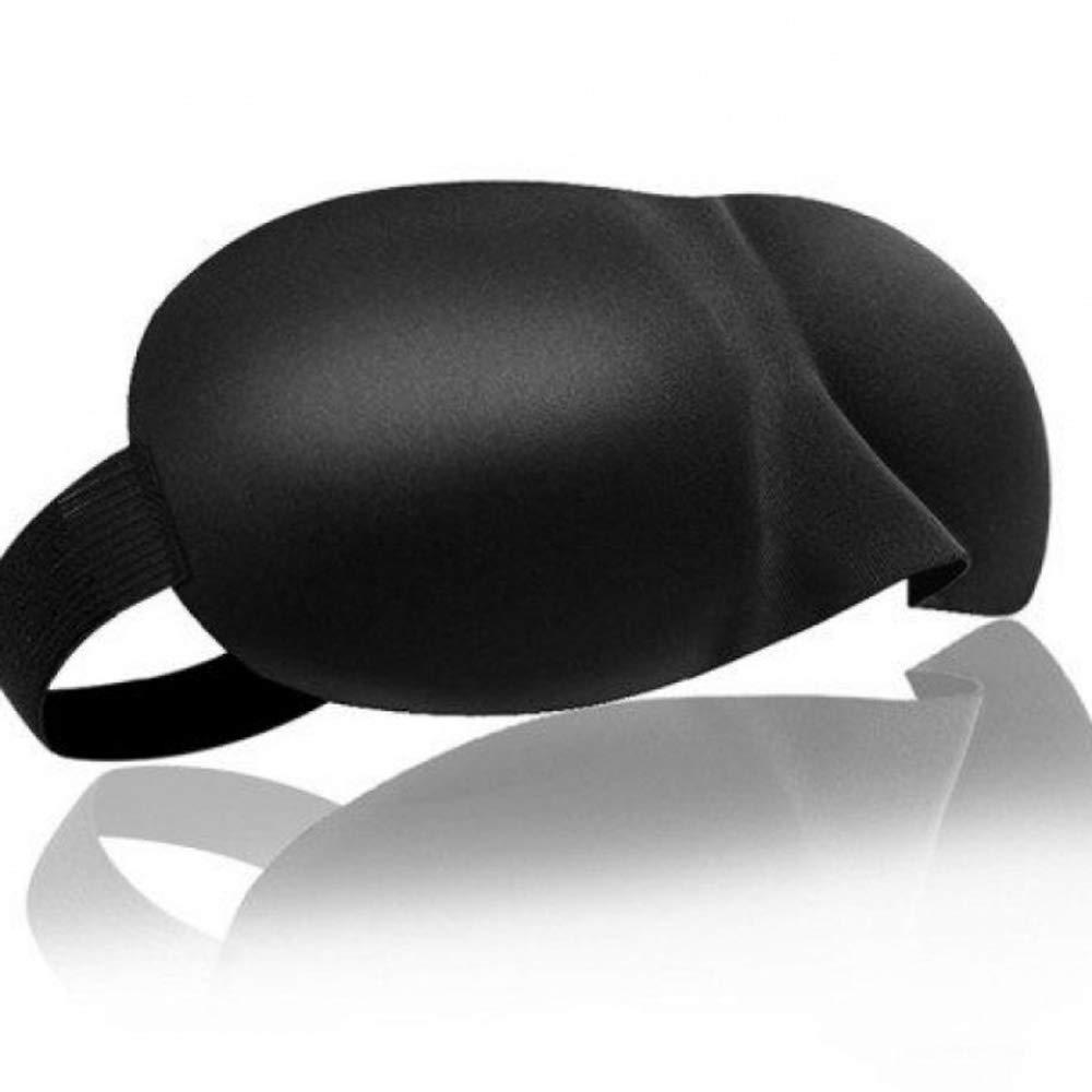 Aofocy Eye Mask Sleeping Mask 3D Eye Mask Soft High density springback sponge Breathable black