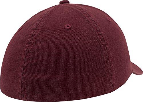 Lavado con algodón Acabado Flexfit marrón de Gorra de Unisex béisbol Sww8PRIq