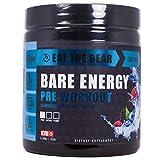 Eat The Bear Bare Energy Pre-Workout Powder, Cool Blue, 0.8 Pound