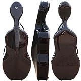 Yinfente 4/4 Cello Case Full Size Cello Bag Box Carbon Fiber Strong Light Montagnana Style Wide Cello Case