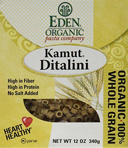 Eden Foods Organic Pasta Company Kamut Ditalini -- 12 oz (Eden Organic Whole Grain)