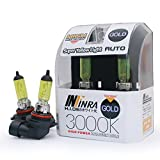 Infinra H10 (9040, 9050, 9055, 9140, 9145) 42W 3000K Super Yellow Xenon Halogen Fog Light Bulbs (Pack of 2)