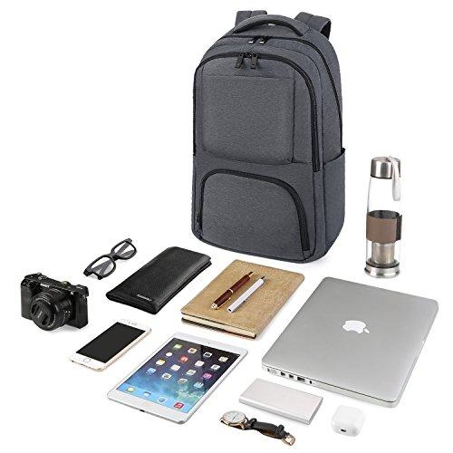 9ba5150fe557 REYLEO RB02 Large Capacity Backpack Casual Laptop Backpack Men ...