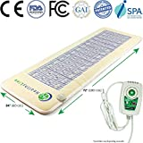 HL HEALTHYLINE - 3-in-1 Therapy Infrared Heating Mat for Back Neck Shoulder, Sciatica, Arthritis, Cramp Pain -...