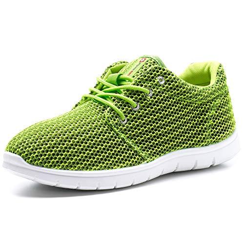 - alpine swiss Men's Kilian Kilian Fashion Sneakers, Lime, 10