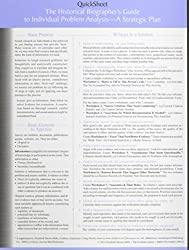 The Historical Biographer's Guide to Individual Problem Analysis: A Strategic Plan (Quicksheet)