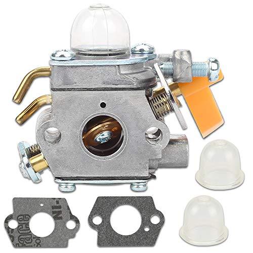 Kaymon 308054013 Carburetor for 308054012 Homelite Ryobi 30CC 26CC Craftsman John Deere Trimmer Blower Brushcutter RY26500 UT20002 Replace Zama C1U-H60 308054004 308054008 with Gasket Primer Bulb