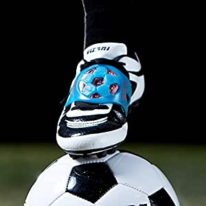 The SOCKIT Light Up Youth Soccer Kicking Trainer Aid Attacker Blue