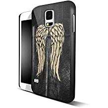Daryl Dixon Wings the Walking Dead for Iphone and Samsung Galaxy Case (iPhone 6 Black)