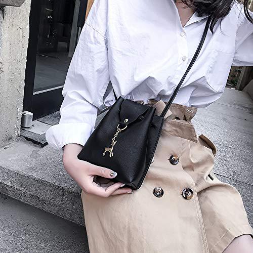 FJTHY Automne Femme bandoulière à Sac Pendentif noir xI0q4rIzw