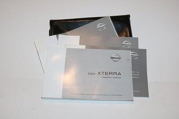 amazon com 02 2002 nissan xterra owners manual book guide set w rh amazon com 2002 nissan xterra owner's manual Nissan Cars