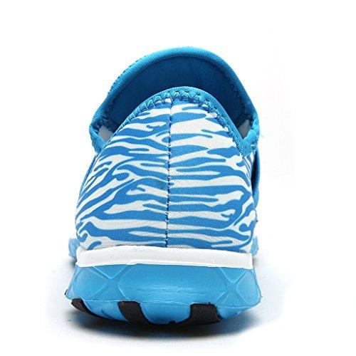 ALEADER Frauen Mesh Slip On Water Schuhe 9973 Blau