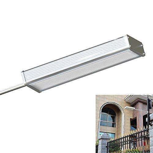 TBAO Rectangle 48LED Aluminum Alloy Solar Street Light Outdoor Solar Lights Garden Light Wall lamp LED Light Bulb (1PACK)
