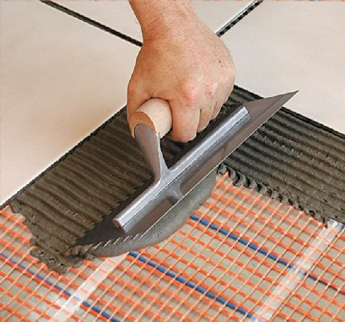 SunTouch (120V) Floor Heat Mat 10 sq ft, 30 x 4 configurable to fit your space, adds luxury and comfort to any room, mesh design allows for fast and easy one-step mortar install before tile/stone by SunTouch (Image #3)