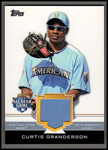 2012 Topps Update All-Star Stitches #CUG Curtis Granderson Jersey - NM-MT