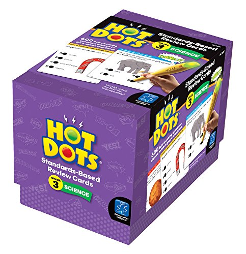 Educational Insights Hot Dots Science Standards-Based Review Cards - Grade 3 Photo #3