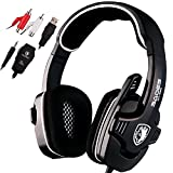 SADES SA922 Pro Stereo Gaming Headphones with Microphone for Pc / Mac / Xbox One / Xbox 360 / PS3 / PS4 / Mobile Phones(Black) For Sale