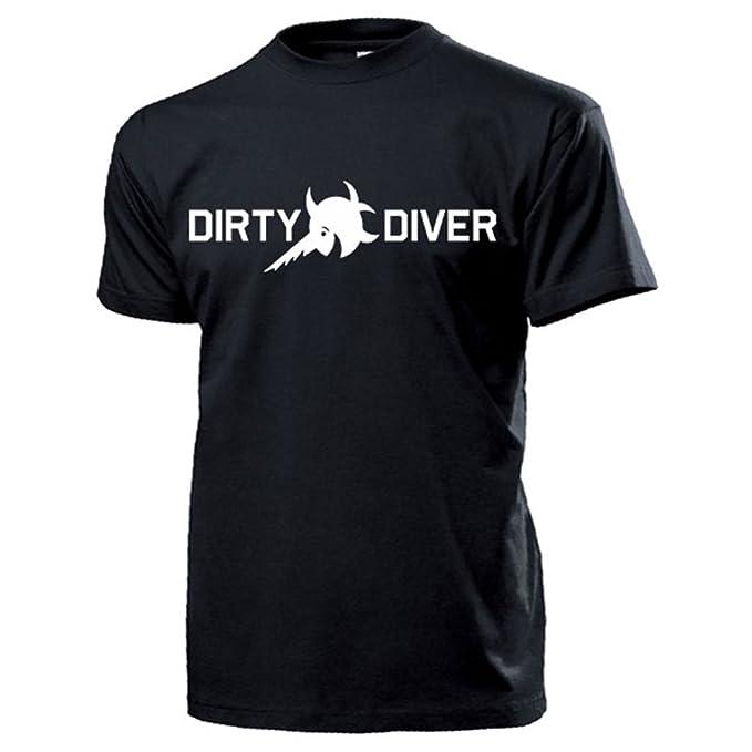 Copytec Dirty Diver Suelo Fund Buceo Sierra Pez Espada Pescado sondler Detector de Metales película - Camiseta # 13210: Amazon.es: Ropa y accesorios