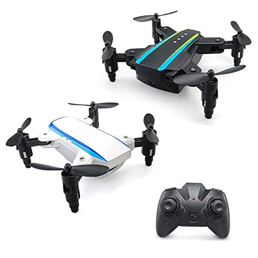 WLPT Mini Drone, Dual Aircraft Combination Foldingable Micro Drone ...