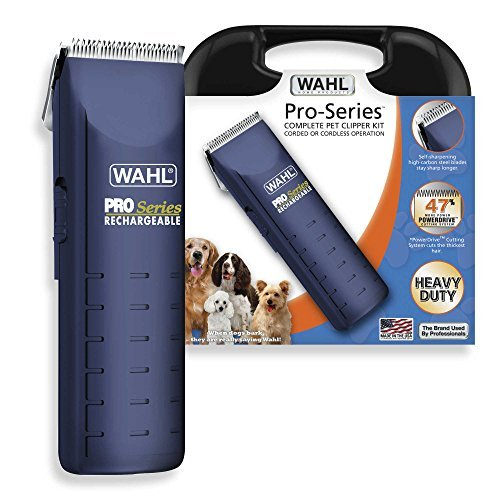 Wahl Pro-Series Complete Pet Clipper Kit Corded or Cordless Operation