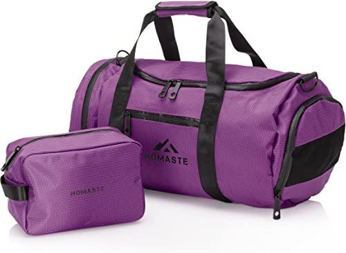 275cdc68e2 Amazon.com  Homaste Gym Bag Bundle - Designer Gym Bag for Men and ...
