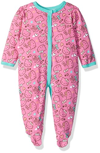 Hello Kitty Baby Girls' Print Coverall, Pink, 6/9M