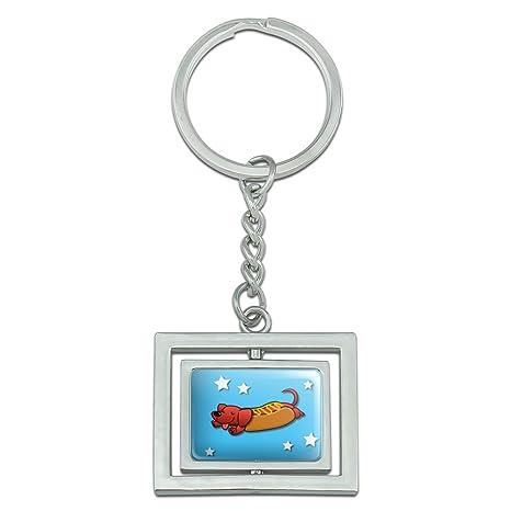 Wiener Perro Caliente de Perro Salchicha Cartoon Spinning ...