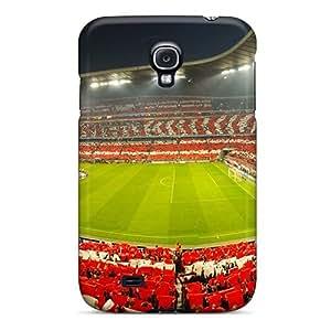 HJJ1051sZBn Winvin Awesome Case Cover Compatible With Galaxy S4 - Champions League Semifinal Bayern Munich Vs Lyon