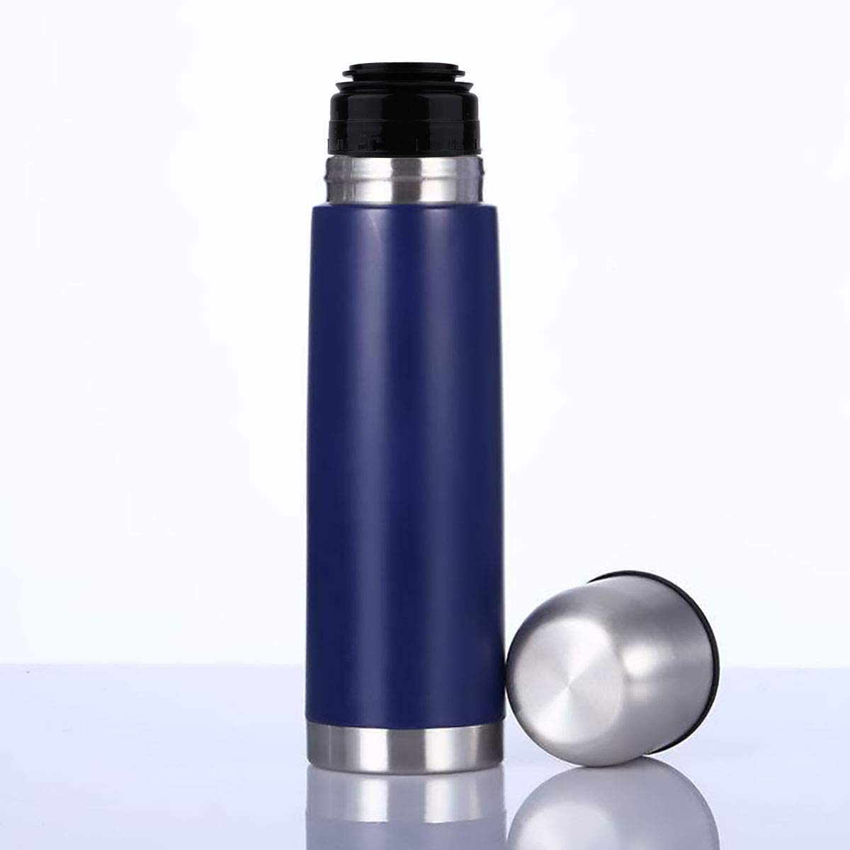 CHICTRY Thermos Bottle Cover Vacuum Cup Cover Leak Proof Flask Lid Thermo Mug Stopper Thermal Cup Lid Outdoor Travel Bullet Flask Covers