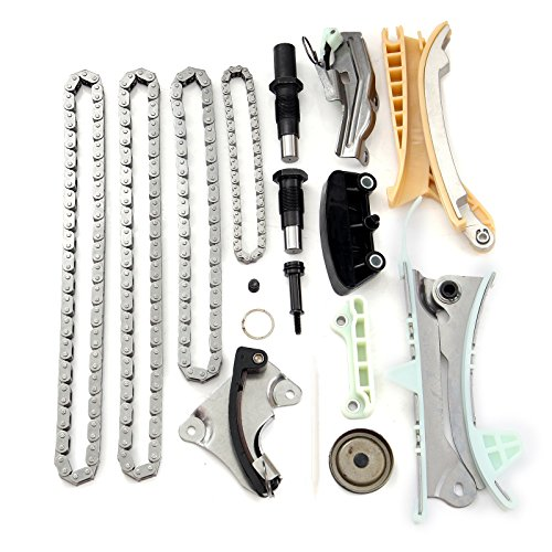 Eccpp Tk428 Timing Chain Kit Tensioner Guide Rail Fits For 97 08 Ford Mercury Mazda 4 0l Ohv Sohc