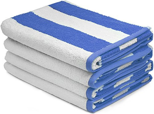 Large-Beach-Towel-Pool-Towel-in-Cabana-Stripe-4-Pack-100-Cotton-Easy-Care-Maximum-Softness-and-Absorbency-30-x-60-by-Utopia-Towels