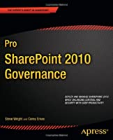 Pro SharePoint 2010 Governance Front Cover