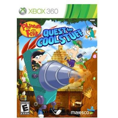 Majesco Phineas & Ferb: Quest For Cool Stuff