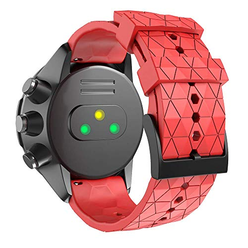 Malla Para Reloj Suunto 9 Baro/suunto Spartan (rojo)