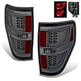 SPPC Smoke LED Tail lights Set For Ford F-150 Version 2 – Passenger and Driver Side
