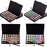Makeup Eye Shadow 40 Earth Colors Matte Pigment Eyeshadow Palette Cosmetic