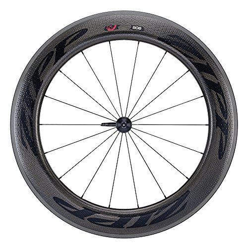 Wheel Front 808 Zipp (Zipp 808 Firecrest Carbon Clincher Front Wheel 700c V3 Black Decal)