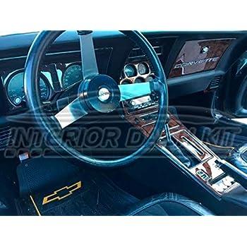 Amazon Chevrolet Chevy Corvette Interior Wood Dash Trim Kit Set