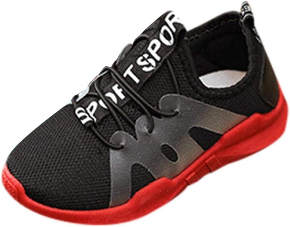 Sneakers Niño Zapatillas Garcon zapato, xinantime niños Kid garçons filles carta Sport Sneaker de estilo Running Zapatos décontractées: Amazon.es: Belleza