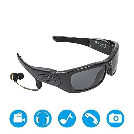 ZRWL 1080 P HD Video Musical con Bluetooth Las Gafas de Sol ...