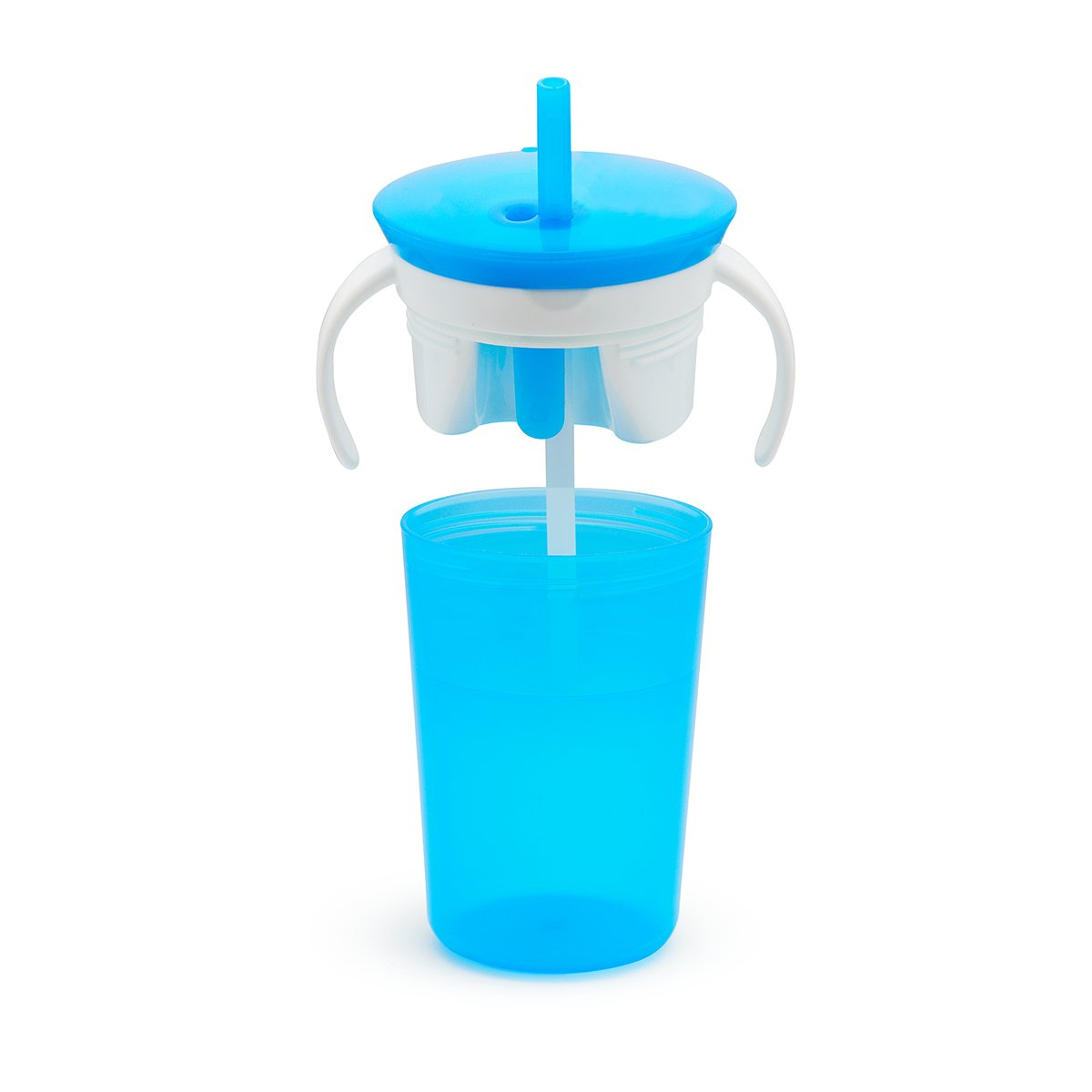 Munchkin Tasse dApprentissage Sippy Snack Cup Rose 266 ml