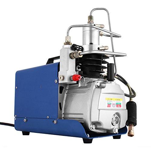 vevor high pressure air pump 110v 30mpa air compressor electric air rifle pcp 4500psi paintball fill