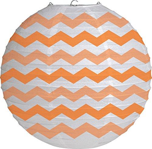 Creative-Converting-Round-Lantern-12-Sunkissed-Orange