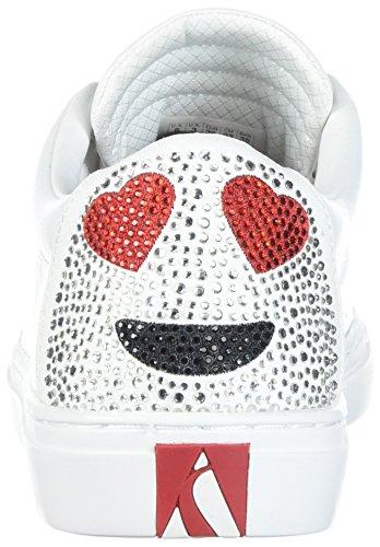Skechers Damen Side Street-Love is Blind Sneaker Weiß (White)