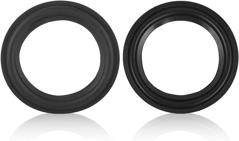 2# Lazmin 5in//4in Speaker Repair Part Kits Speaker Foam Edge Surround Rings For Repair or DIY Replacement
