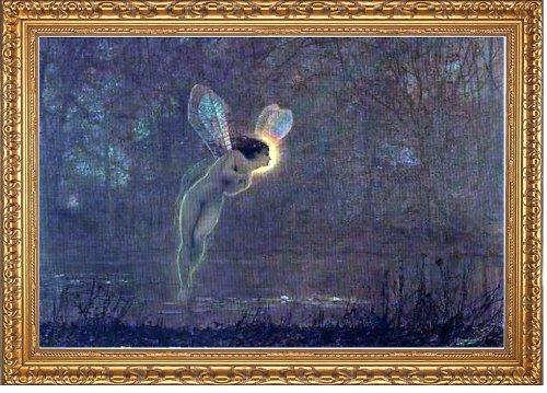 Art Oyster John Atkinson Grimshaw Iris - 16.05